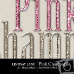 Pink champagne bling alphas prev 1 small