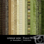 Forest Whispers Paper Pack-$3.99 (Lindsay Jane)