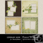 Forest Whispers Quick Page QuickMix-$3.49 (Lindsay Jane)