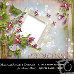Little Princess Story Free QuickPage QuickMix-$0.00 (MagicalReality Designs)