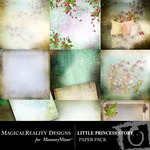Little Princess Story Paper Pack-$3.99 (MagicalReality Designs)
