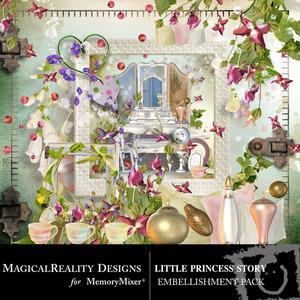 Little princess story emb medium