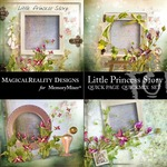 Little Princess Story Quick Page QuickMix-$3.49 (MagicalReality Designs)