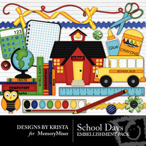 School days emb medium