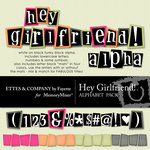 Hey Girlfriend Alphabet Pack-$2.25 (Ettes and Company by Fayette)