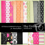 Hey Girlfriend Paper Pack-$3.99 (Fayette Designs)
