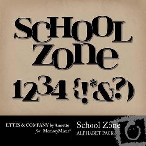 School zone alpha medium