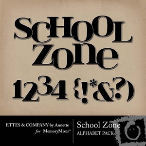 School zone alpha medium