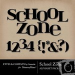 School Zone Alphabet Pack-$0.50 (Ettes and Company by Annette)