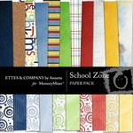 School Zone Paper Pack-$3.99 (Ettes and Company by Annette)