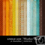 Weather Watch Paper Pack-$3.99 (Lindsay Jane)