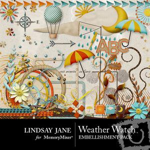 Weather watch emb medium