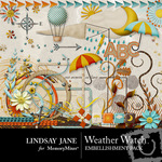 Weather Watch Embellishment Pack-$3.99 (Lindsay Jane)