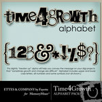 Time 4 Growth Alphabet Pack-$0.99 (Ettes and Company by Fayette)