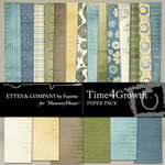 Time 4 Growth Paper Pack-$3.99 (Fayette Designs)