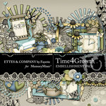 Time 4 Growth Embellishment Pack-$3.49 (Ettes and Company by Fayette)