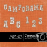 Camporama Alphabet Pack-$1.99 (Karen Lewis)