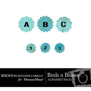 Birds n bloom alpha medium