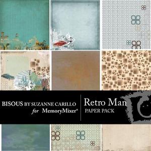 Retro man pp medium