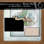 Retro Man QuickMix-$2.99 (Bisous By Suzanne Carillo)