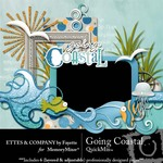 Going Coastal QuickMix-$4.99 (Ettes and Company by Fayette)
