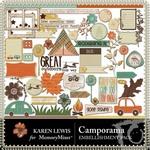 Camporama Embellishment Pack-$2.99 (Karen Lewis)