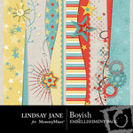 Boyish Border Pack-$1.99 (Lindsay Jane)