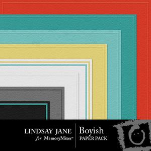 Boyish embossed pp medium