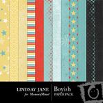 Boyish Paper Pack-$3.99 (Lindsay Jane)