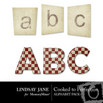 Cooked to Perfection Alphabet Pack-$1.49 (Lindsay Jane)