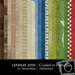Cooked to Perfection Paper Pack-$3.99 (Lindsay Jane)