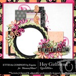 Hey Girlfriend QuickMix-$4.99 (Ettes and Company by Fayette)