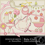 Baby Girl DBK Embellishment Pack-$2.49 (Designs by Krista)