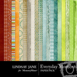 Everyday Moments Paper Pack-$3.99 (Lindsay Jane)