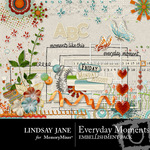 Everyday Moments Embellishment Pack-$3.99 (Lindsay Jane)