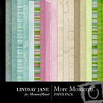 More Moments Paper Pack-$3.99 (Lindsay Jane)