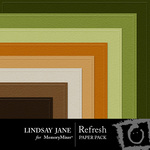 Refresh Embossed Paper Pack-$2.49 (Lindsay Jane)