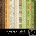 Refresh Paper Pack by LJ-$3.99 (Lindsay Jane)