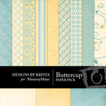 Buttercup Paper Pack-$3.99 (Designs by Krista)