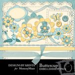 Buttercup Embellishment Pack-$2.49 (Designs by Krista)