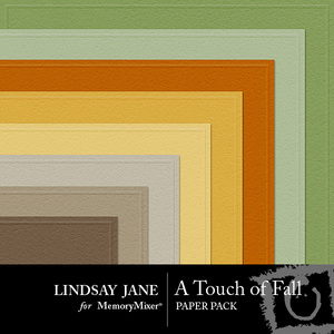 A touch of fall embossed pp medium