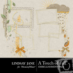 A Touch of Fall Frame Pack-$1.99 (Lindsay Jane)
