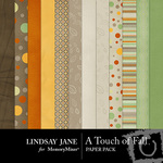 A Touch of Fall Paper Pack-$3.99 (Lindsay Jane)