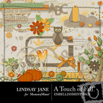 A Touch of Fall Embellishment Pack-$3.49 (Lindsay Jane)
