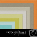 Scrap It Embossed Paper Pack-$2.49 (Lindsay Jane)