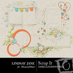 Scrap It Frame Pack-$1.99 (Lindsay Jane)