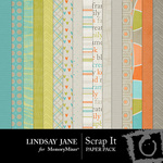 Scrap It Paper Pack-$3.99 (Lindsay Jane)