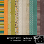 Autumn Days Paper Pack-$3.99 (Lindsay Jane)