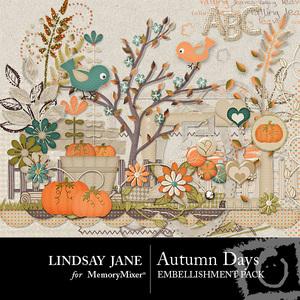 Autumn days emb medium