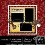 Cowboy and Cowgirl QuickMix-$3.49 (Albums to Remember)